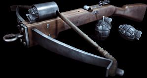 grenade-crossbow